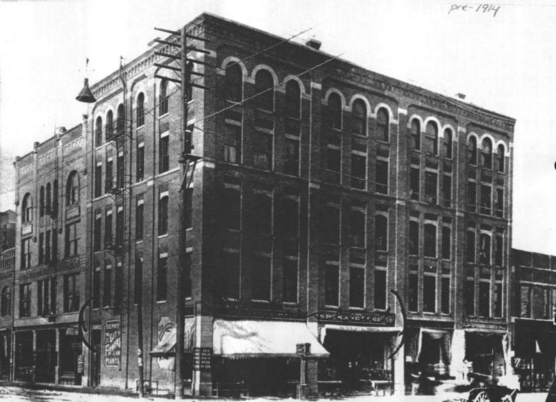 Whitten Block before 1914