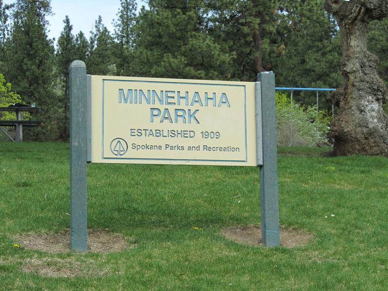 Park Sign Minnehaha