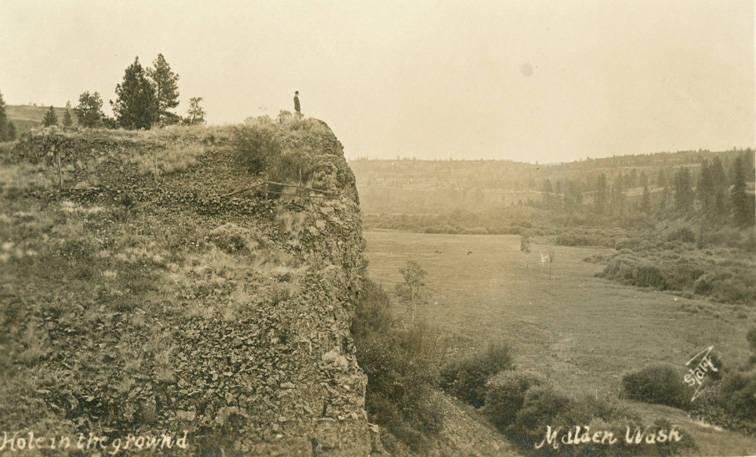 Gazing over 1,000 acres of pasture land, circa 1900.