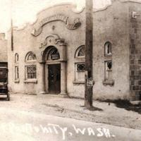 Opportunity Township Hall, circa 1925